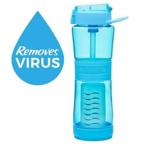 best portable water filter bottle