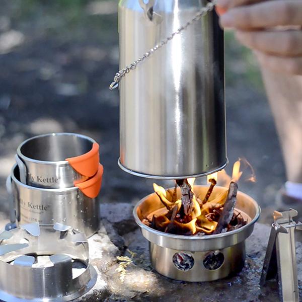 kelly kettle ultimate kit stainless steel