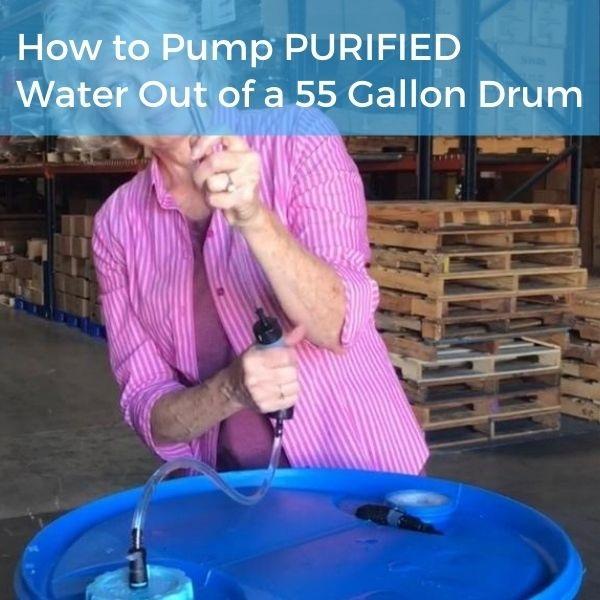 55 gallon drum water filter