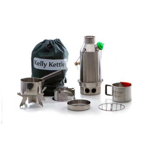 sagan life kelly kettle trekker kit stainless steel
