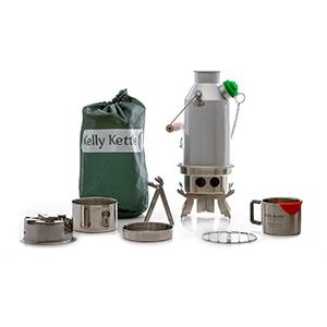 kelly kettle aluminum trekker and kit