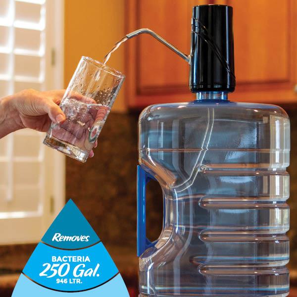 sagan life powerflo water jug filtration system instruction flyer thumbnail