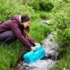 sagan life aquabrick fill container from stream