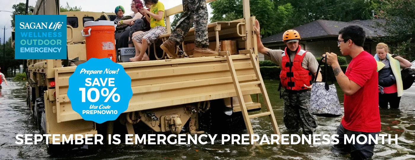 sagan life home page hero emergency prep month