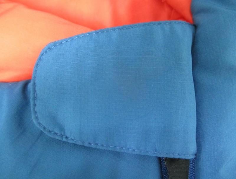 Mummy bag Zip Fastener with fluorescent puller
