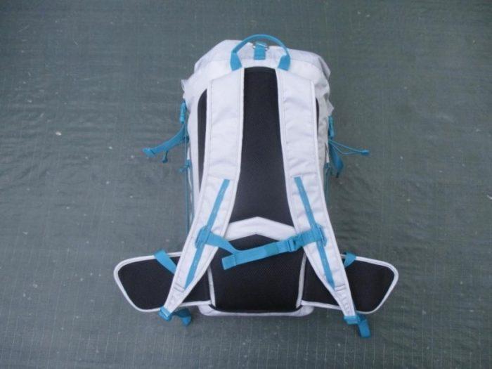 Rucksack for backpacking